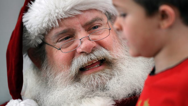 Indianapolis children will have lots of opportunities to meet Santa this Christmas season.