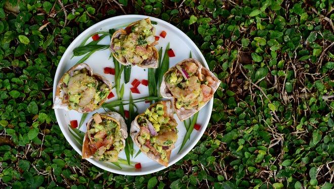 Wonton Basket Bites, courtesy of Skopelo's at New World