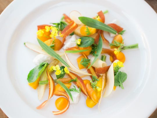 Local Provisions' carrot and apple salad.