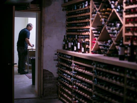 Tony Lemmo makes cavatelli in the basement of Café