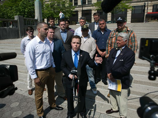 "Congressional candidate Sean Barney releases his plan to honor and care for our veterans on the ten-year anniversary of his ""alive day,"" the day he was shot through the neck in Iraq."