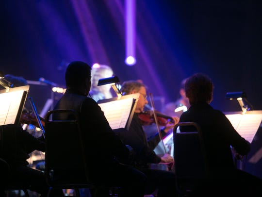 Rock music will collide with the symphony orchestra