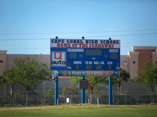 Cape Coral High School football field