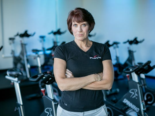 """""""Spinning® class is for everyone,"""" says Kris Laine,"""