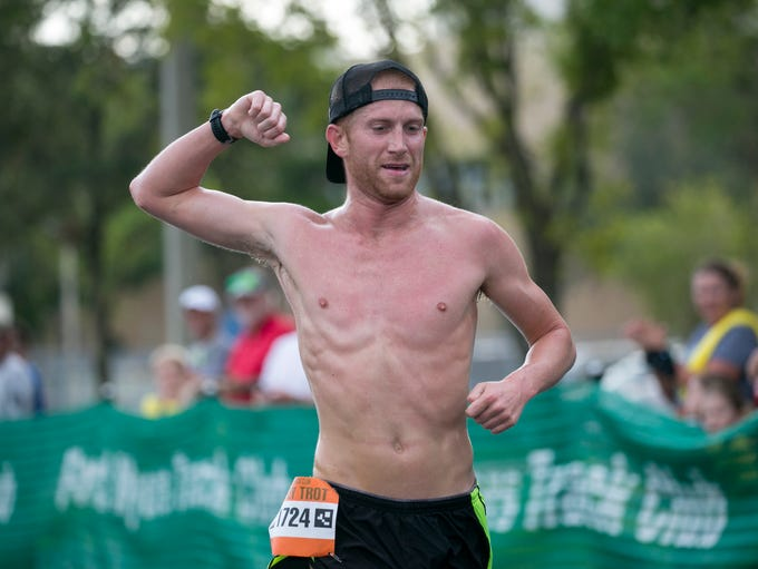Ross Lenehan of Cape Coral finishes in first place