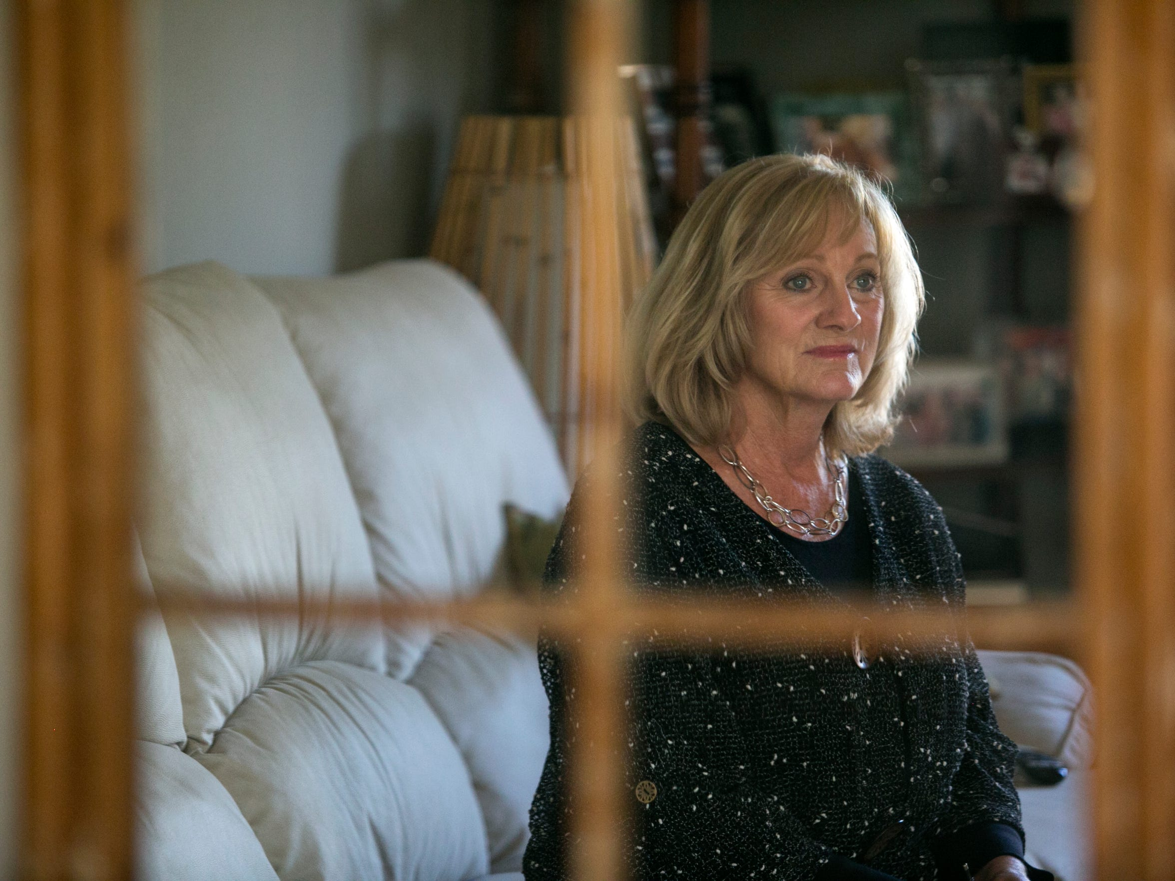 Sue Cesare was comfortably middle class until the recession hit.