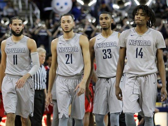 NCAA Basketball: Fresno State at Nevada