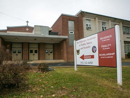 The Delaware Academy of Public Safety and Security on Tuesday abruptly announced that it was closing.
