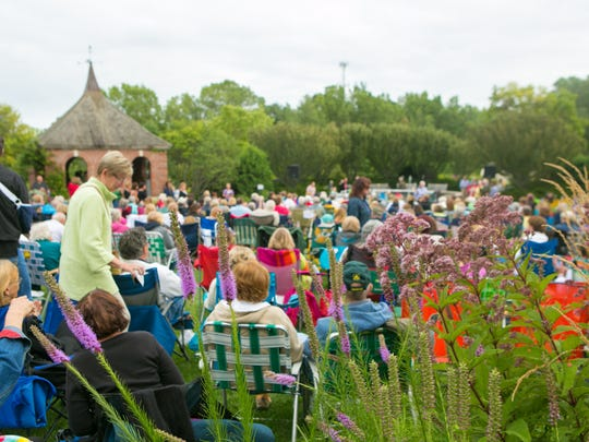 Concerts at Green Bay Botanical Garden this summer will move to the new Grand Garden and amphitheater.