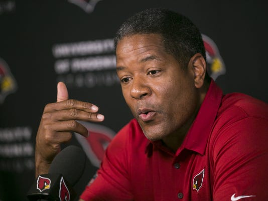 Arizona Cardinals coach Steve Wilks