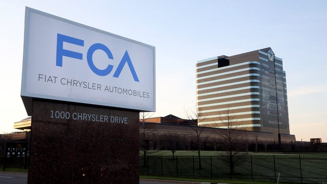 Fiat Chrysler Automobiles headquarters, located in Auburn Hills.