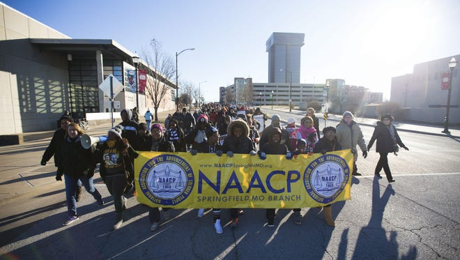 The annual Martin Luther King Jr. March starts at 9 a.m. Monday at the Mediacom Ice Park.