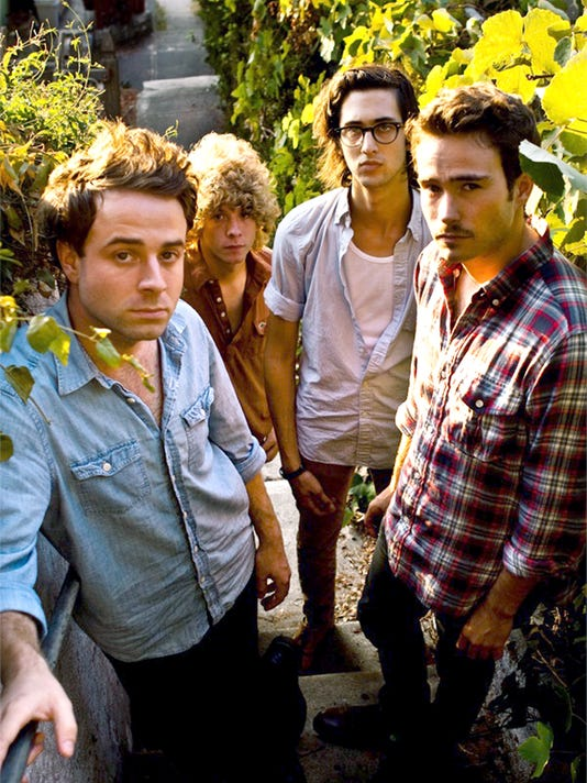 California rock quartet Dawes performs tonight in York. The band plays Aug. 7 at Lollapalooza 2010 in Chicago.