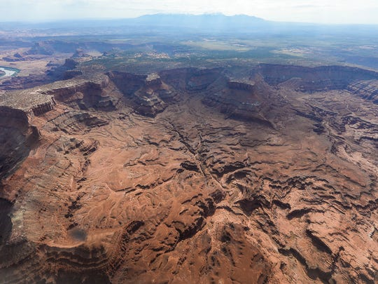 FILE - This May 23, 2016, file photo, shows Lockhart Basin, south of the Colorado River, within the boundary of the Bears Ears region in southeastern Utah. President Barack Obama designated two national monuments Wednesday, Dec. 28, at sites in Utah and Nevada that have become key flashpoints over use of public land in the U.S. West.