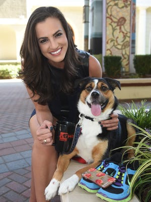 KTAL Morning Anchor Lauren Vizza shows off her five necessary luxuries. Starting with her dog Lacey, a Corgi/St. Bernard mix followed by her iPhone, a pair of Nike running shoes, a diamond ring set from her mother and her KTAL coffee mug that helps get her to the set early in the mornings.