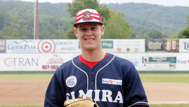 Elmira Pioneers right-hander Houston Roth reached rare territory with 20 strikeouts against the Newark Pilots on June 24.