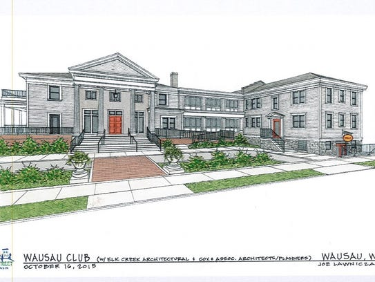 A 2015 drawing from Elk Creek Architectural shows plans