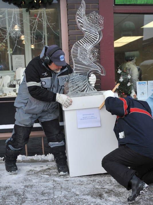 WINTERFEST: Ice Sculptures
