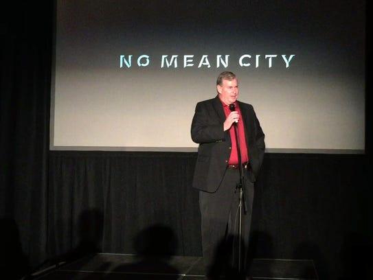 Former Indianapolis Mayor Greg Ballard talks briefly