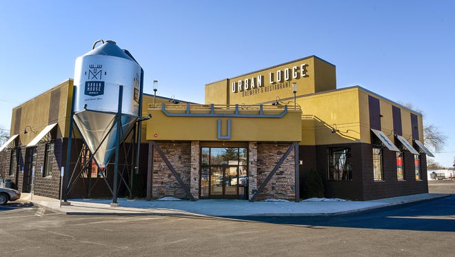 Urban Lodge Brewery & Restaurant shown Wednesday, Feb. 1, in Sauk Rapids.