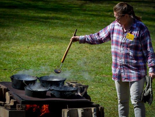 PHOTOS: Maple Sugaring Weekend at Nixon County Park