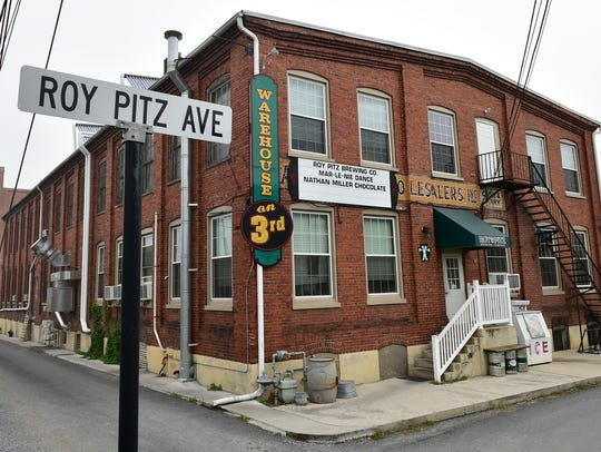 Roy Pitz is currently located off North Third Street,