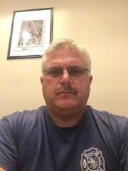 Clay Township Fire Chief Daryl DuPage