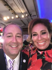 Tim Breaux and Judge Jeanine Pirro