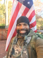 Jarrad Turner, 42, is one of several veterans leading a week-long run from Shanksville, Pa. to Atlanta to raise awareness and funding for military suicide prevention. The run stops in Nashville on Memorial Day weekend, Saturday, May 27.