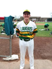 Matt Bowman, All-SUNYAC Tournament pitcher from Endicott.