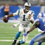 Carolina Panthers' Cam Newton plays well, but opens his mouth again