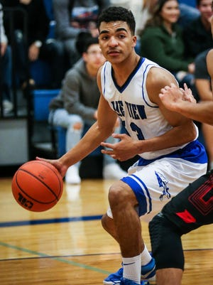 Lake View's Isaiah English was named to the second team of the District 4-5A boys basketball all-district team for the 2017-18 season.