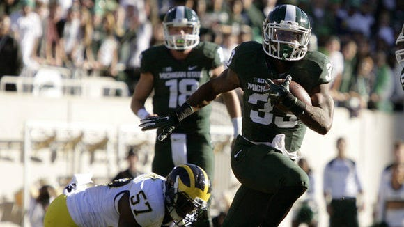 Jeremy Langford and the No. 8-ranked Michigan State Spartans are the highest ranked team in the Big Ten.