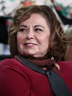 Roseanne Barr is back on social media, but limiting her Twitter topics, as the March 27 premiere of ABC's 'Roseanne' revival approaches.
