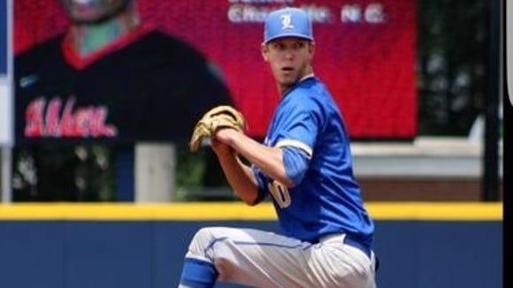 Hendersonville alum Sam Linn is a redshirt freshman for the Lander (S.C.) baseball team.