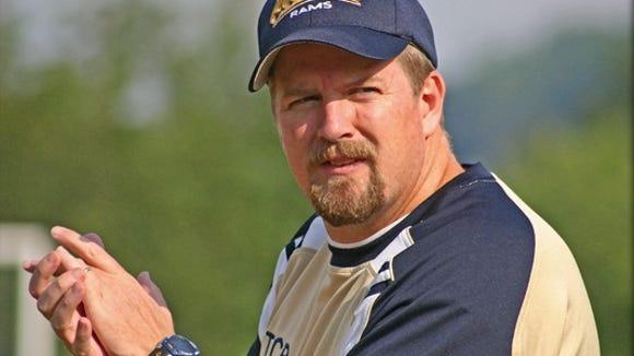 Roberson soccer coach Rob Wilcher.