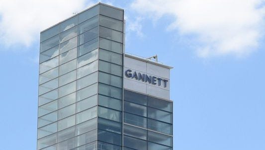 Gannett will acquire 14 daily newspapers and 18 weeklies with the purchase.