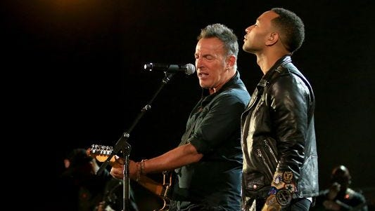 Bruce Springsteen and John Legend