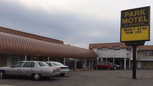 The Park Motel on Grand River Ave. in Farmington Hills.
