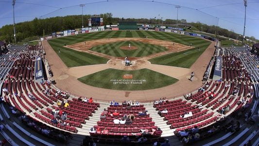 Neuroscience Group Field at Fox Cities Stadium in Grand Chute is the home ballpark of the Wisconsin Timber Rattlers, who open their 2016 home schedule Saturday at 4:05 p.m. against the Beloit Snappers.