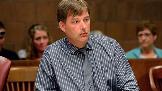 Randy Robbins, 42, was sentenced Wednesday to a year in jail for a fatal DUI last year.