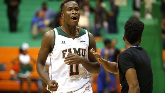 Bernard led Florida A&M with 14.4 points per game and 7.1 rebounds per game.