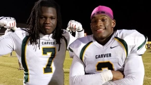Marlon Davidson and Mack Wilson helped make G.W. Carver