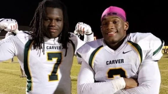 Marlon Davidson and Mack Wilson helped make G.W. Carver one of the best defenses.