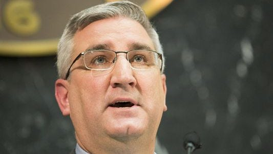 Gov. Eric Holcomb.