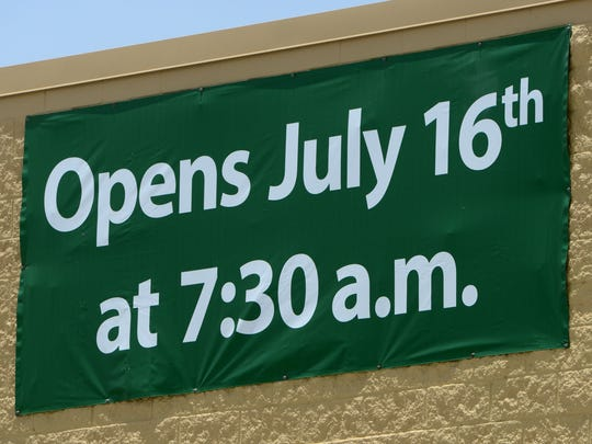 The new Walmart Neighborhood Market on Mobile HIghway, accross the Pensacola Interstate Fairgrounds, is scheduled to open on July 16.