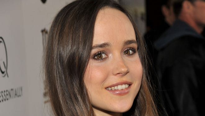 Ellen Page revealed she is gay.