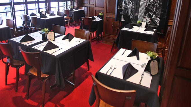 The dining room at Chef Joseph's at the Connoisseur Room. The restaurant's last day of service is Dec. 31, 2017.