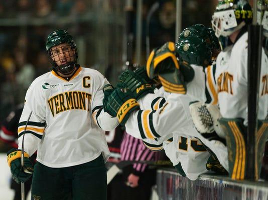Northeastern vs. Vermont Men's Hcokey 01/16/15