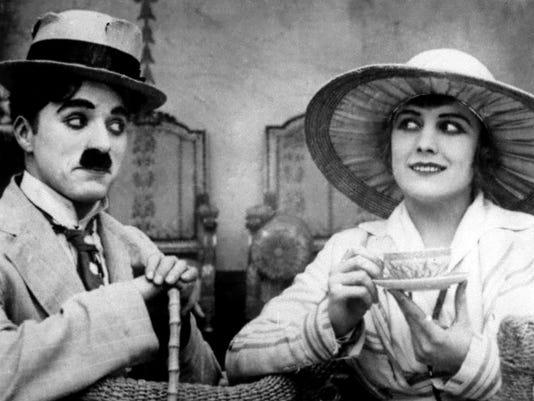 Charlie Chaplin Edna Purviance